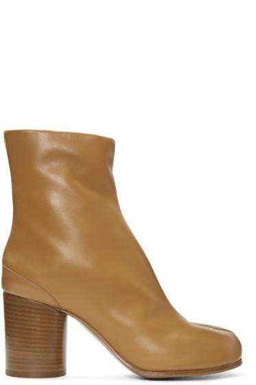 Maison Margiela - Brown Tabi Boots