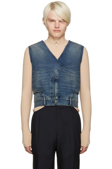 Maison Margiela - Indigo Denim Jeans Vest