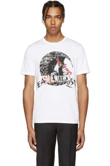 Maison Margiela - White Music T-Shirt