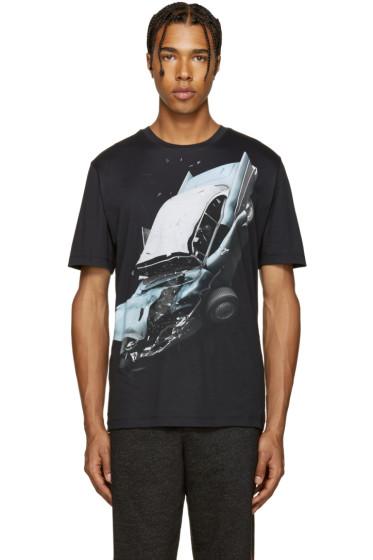 Christopher Kane - Black Car Crash T-Shirt