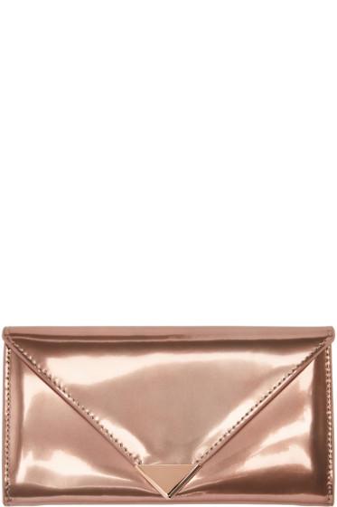 Alexander Wang - Rose Gold Prisma Wallet