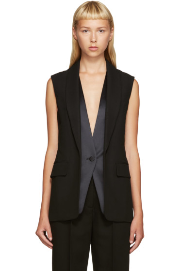 Alexander Wang - Black Layered Vest