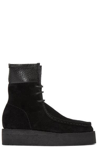 Alexander Wang - Black Suede Selma Boots