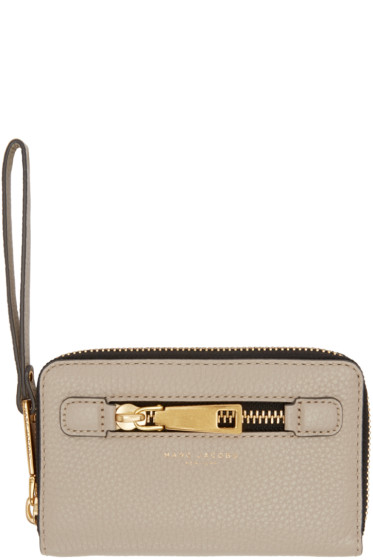 Marc Jacobs - Taupe Gotham City Wallet