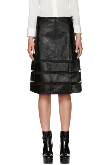 Marc Jacobs - Black Coated Skirt