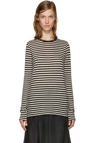 Marc Jacobs - Black & White Wool T-Shirt