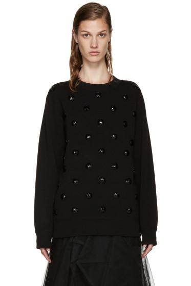 Marc Jacobs - Black Embellished Sweater