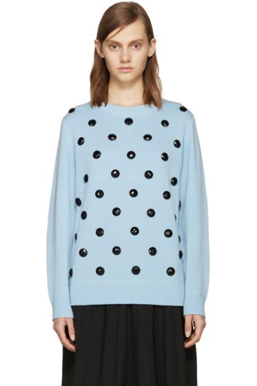 Marc Jacobs - Blue Embellished Sweater