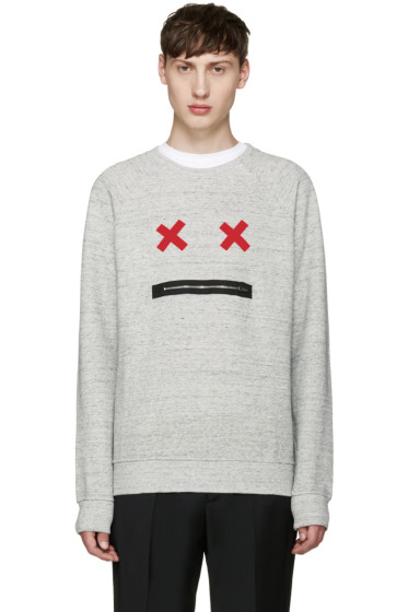 Marc Jacobs - Grey Smile Pullover