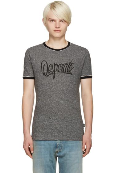 Marc Jacobs - Grey 'Desperate' T-Shirt
