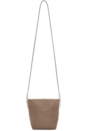 Rick Owens - Brown Small Adri Bag