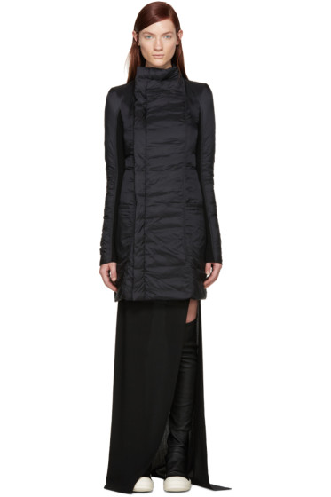 Rick Owens - Black Nylon Eileen Down Coat