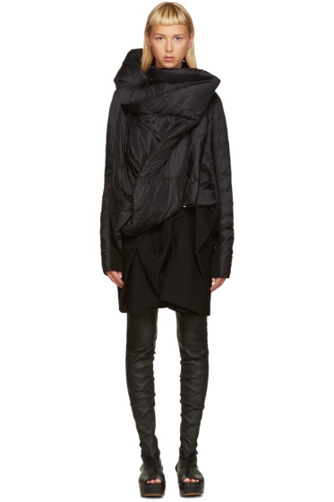 Rick Owens - Black Down Guimard Jacket