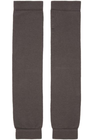 Rick Owens - Grey Leg Warmers