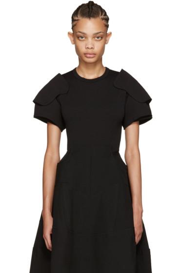 Comme des Garçons - Black Padded Shoulders T-Shirt