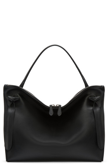 Jil Sander - Black Medium Hill Bag