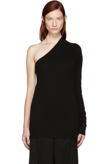 Jil Sander - Black Cashmere Single-Sleeve Sweater