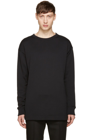 Jil Sander - Black Cotton Pullover