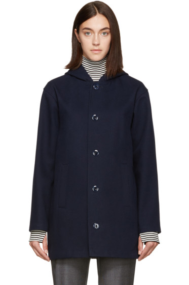 A.P.C. - Navy Anouk Coat