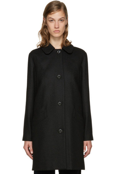 A.P.C. - Black Doll Coat