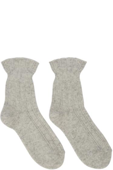 A.P.C. - Ecru Jessie Socks