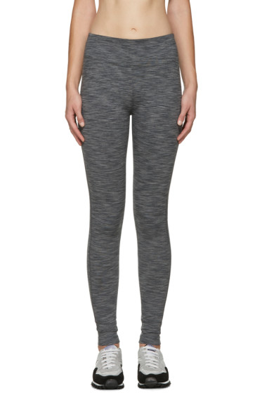 A.P.C. x Outdoor Voices - Grey Graphic Leggings