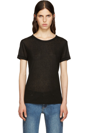 A.P.C. - Black Camille T-Shirt