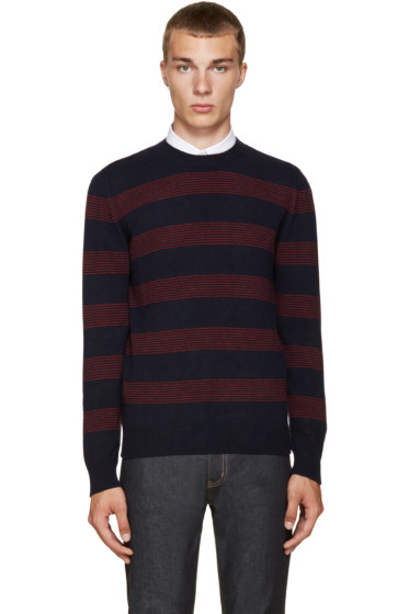 A.P.C. - Navy Vegas Sweater