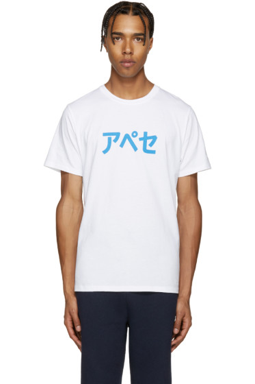 A.P.C. - White A.P.C. Japan T-Shirt