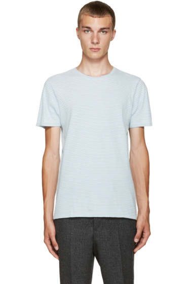 A.P.C. - Blue Classic Stripe T-Shirt