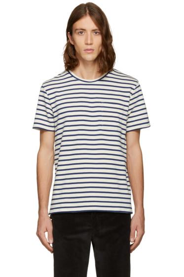 A.P.C. - Navy Ken T-Shirt