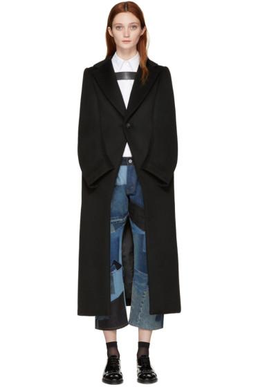 Junya Watanabe - Black Mock Sleeves Coat