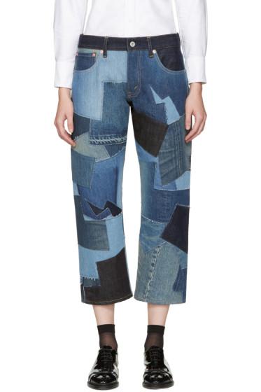 Junya Watanabe - Indigo Patchwork Jeans