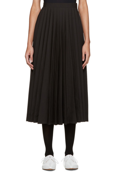 Junya Watanabe - Black Pleated Skirt