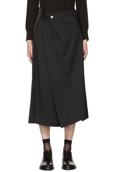 Junya Watanabe - Black Asymmetric Skirt