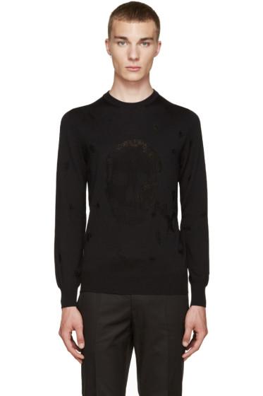 Alexander McQueen - Black Skull Sweater