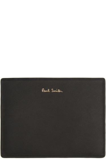 Paul Smith - Black Leather Card Holder