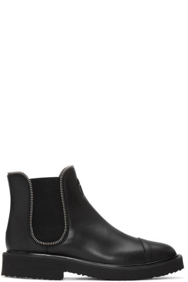 Giuseppe Zanotti - Black Hillary Chelsea Boots