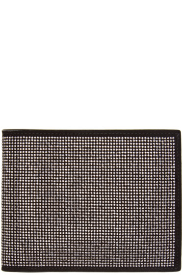 Giuseppe Zanotti - Black Leather Studded Wallet