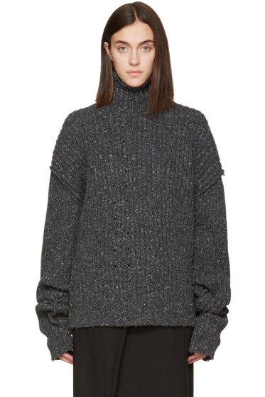 Damir Doma - Grey Kant Turtleneck