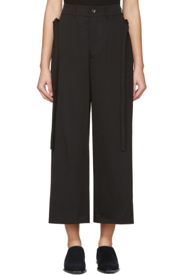 Damir Doma - Black Wool Trousers