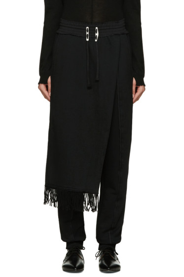 Damir Doma - Black Pitagora Lounge Pants