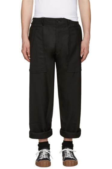 Comme des Garçons Shirt - Black Wool Trousers