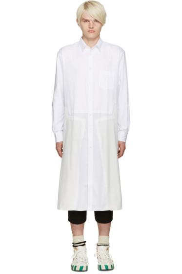Comme des Garçons Shirt - White Panelled Tunic