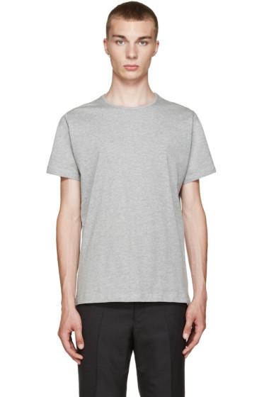 Comme des Garçons Shirt - Grey Basic T-Shirt