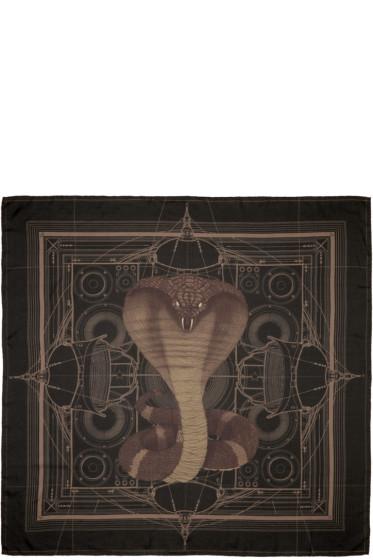 Givenchy - Black Cobra Scarf
