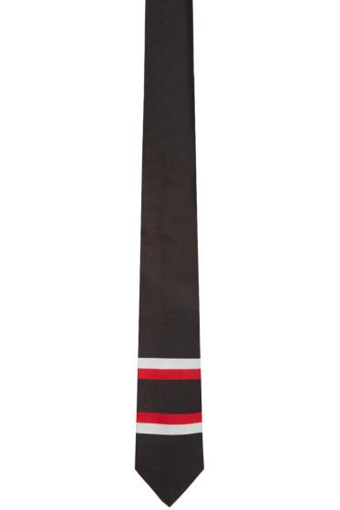 Givenchy - Black Striped Tie