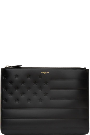 Givenchy - Black American Flag Pouch