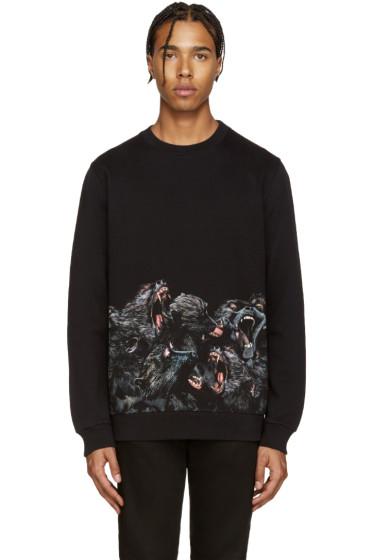 Givenchy - Black Monkey Pullover