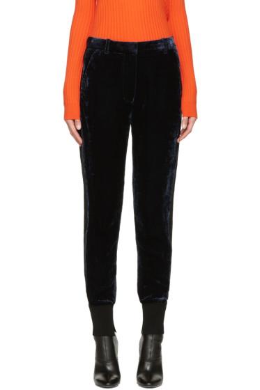 3.1 Phillip Lim - Navy Velvet Lounge Pants